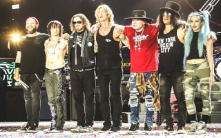 GUNS N´ ROSES (foto interpreta)
